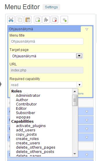 admin-menu-editor-oikeuksen-muokkaaminen