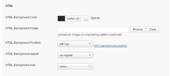 custom-login-lisaosa-html-asetukset