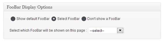 foobar-asetus-sivulla