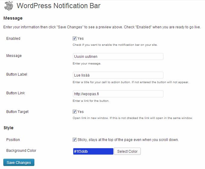 notification-bar-wordpress