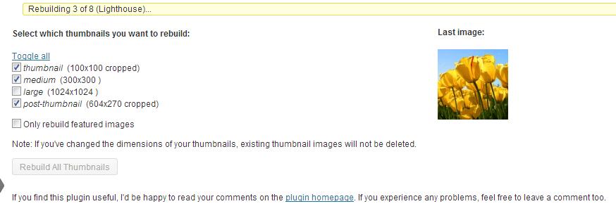 thumbnails-generate