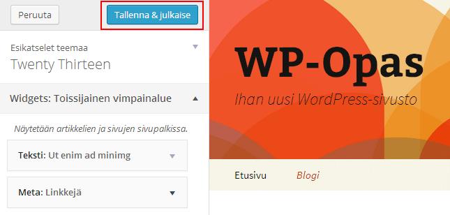 widget-customizer-tallenna-julkaise