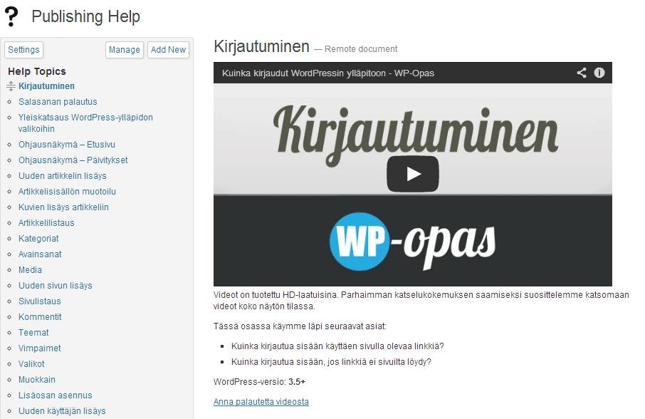 wp-help-video